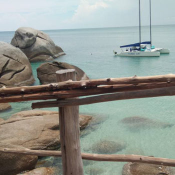 luxury yacht vip private catamaran tour koh samui