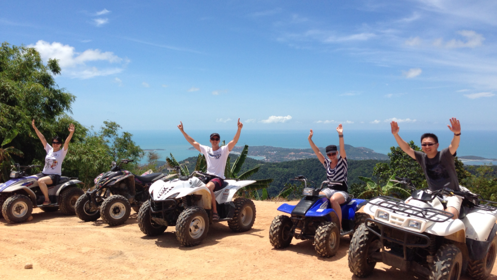 xquad atv tours