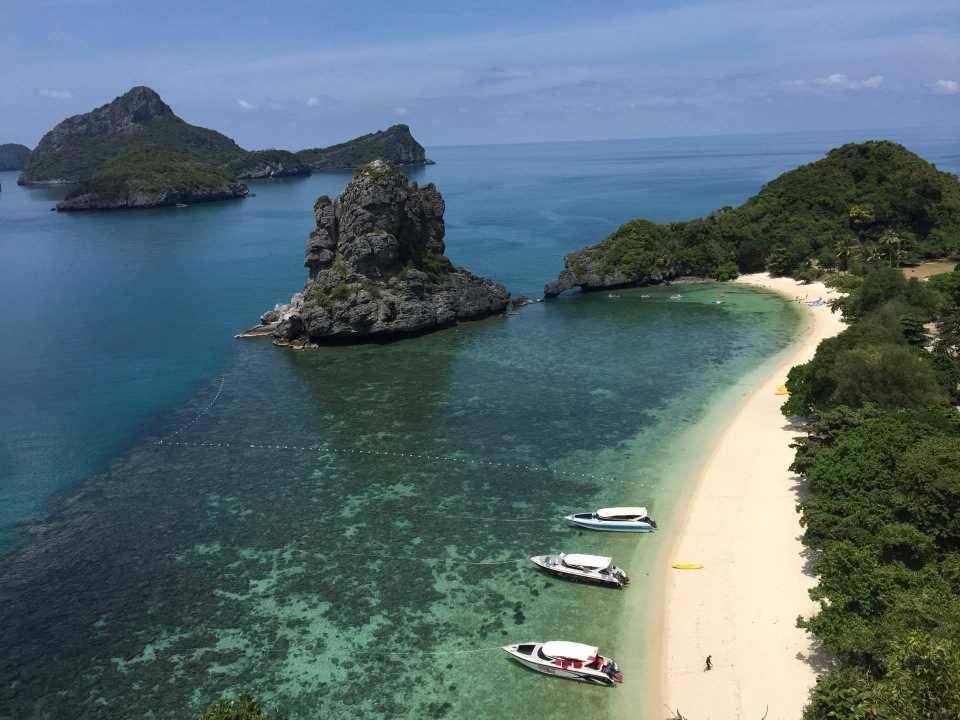 VIP Speedboat Angthong Marine Park 04