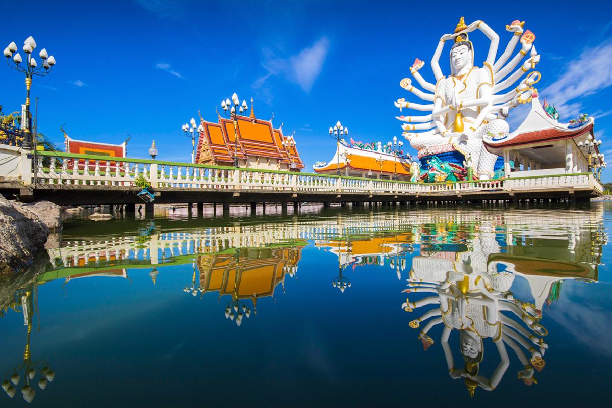 Koh Samui, Wat Plai Laem