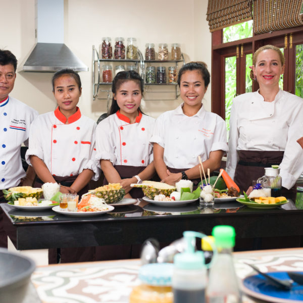 cooking class fusion thai dishes