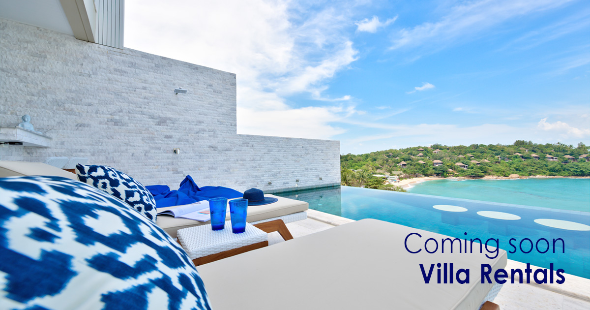 Coming Soon - Villa Rentals