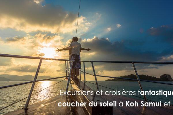 Excursions et croisières fantastiques au coucher du soleil à Koh Samui et Krabi