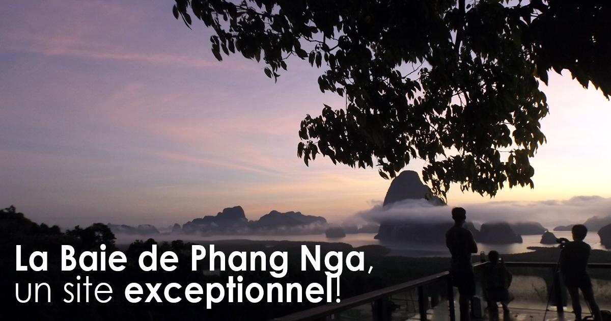 La Baie de Phang Nga, un site exceptionnel