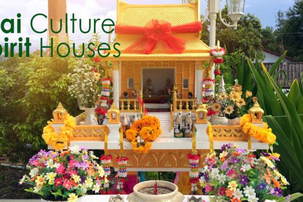 Thai Culture - Spirit Houses - a shrine to the a protective spirit!