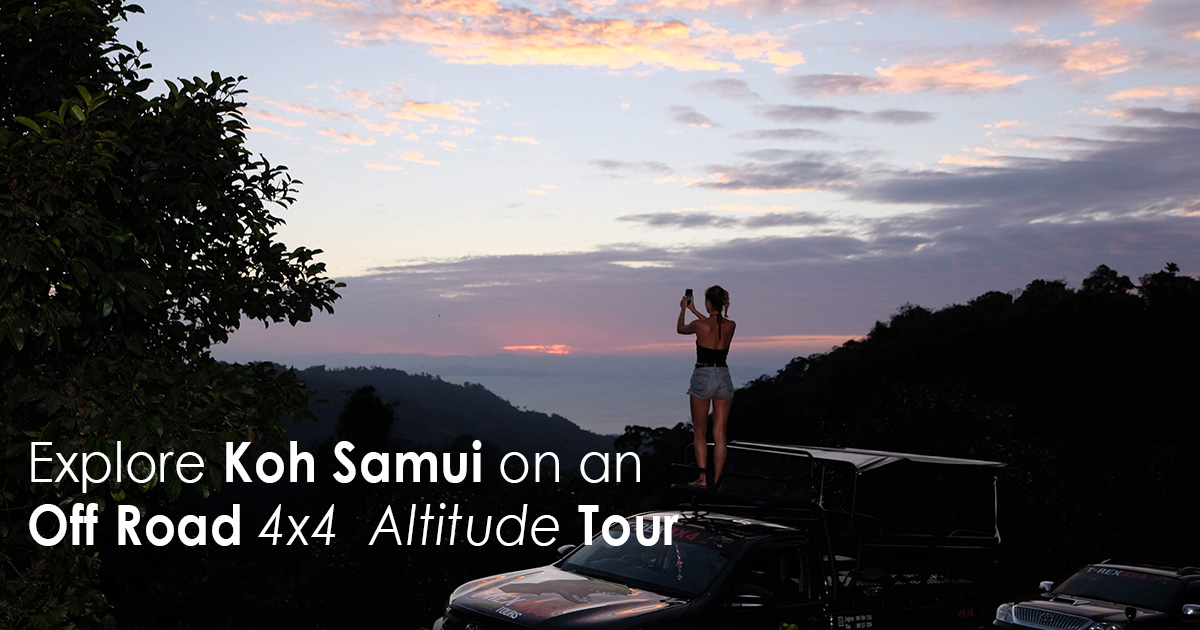 Explore Koh Samui on an Off Road 4x4 - Altitude Tour
