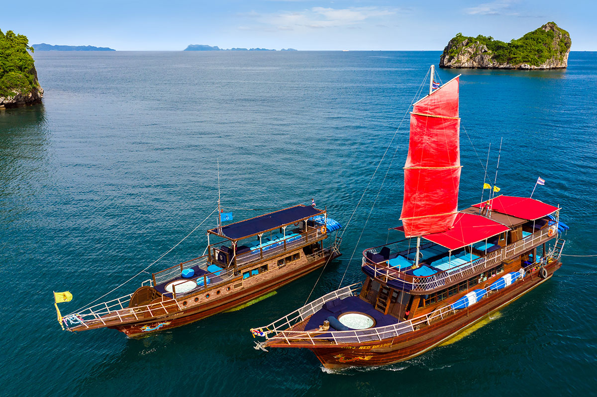 Koh Taen Island Snorkelling Yacht Tour 01