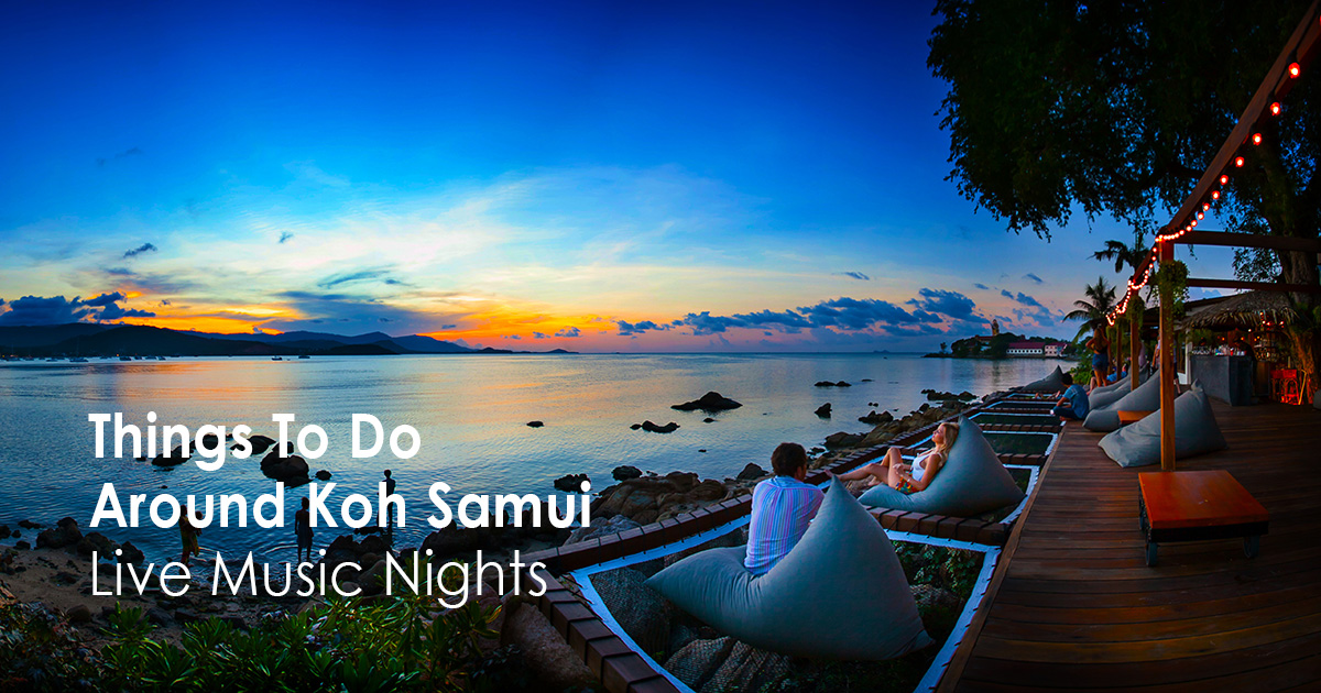 Things To Do Around Koh Samui - Live Music Nights