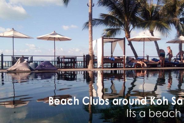 Beach Clubs around Koh Samui