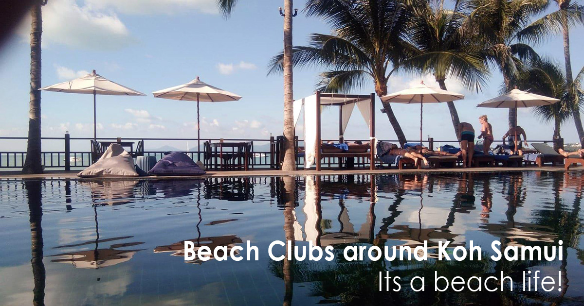 Beach Clubs around Koh Samui