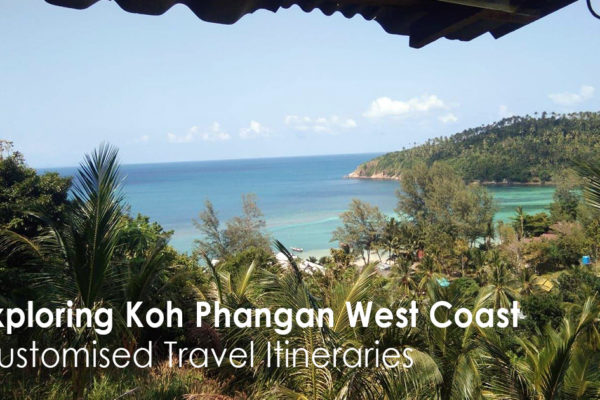 Exploring Koh Phangan West Coast
