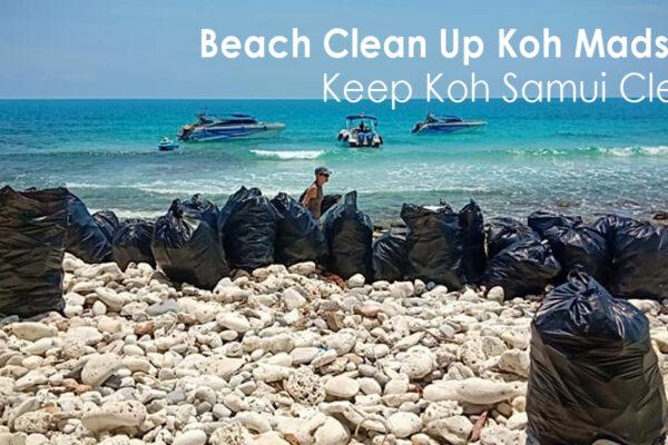 Beach Clean Up Koh Madsum