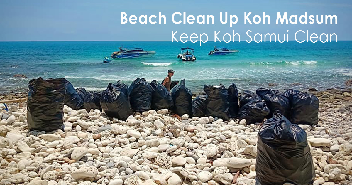 Beach Clean Up Koh Madsum