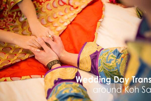Wedding Day Transfers around Koh Samui
