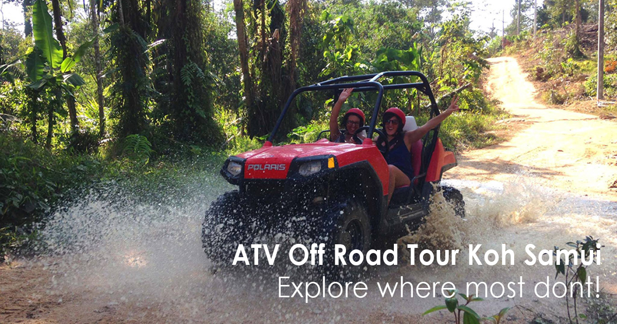 ATV Off Road Tour Koh Samui