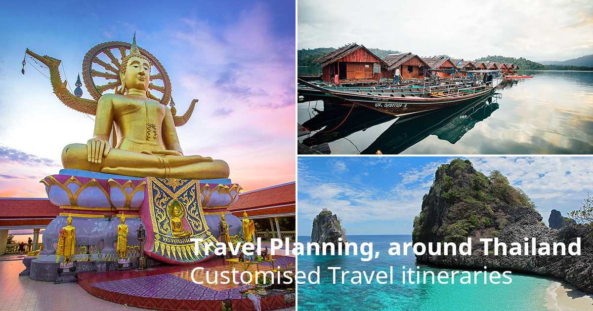 Customised Travel itineraries