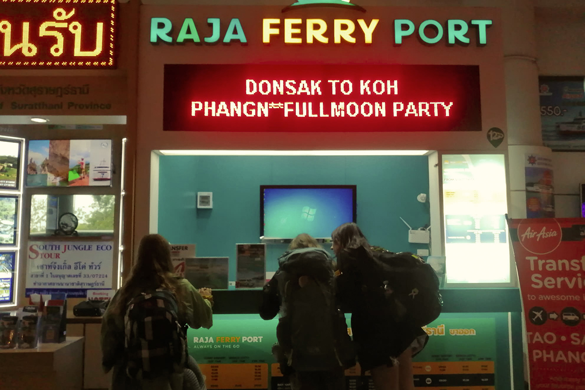 Raja Ferry, at Suratthani Airport